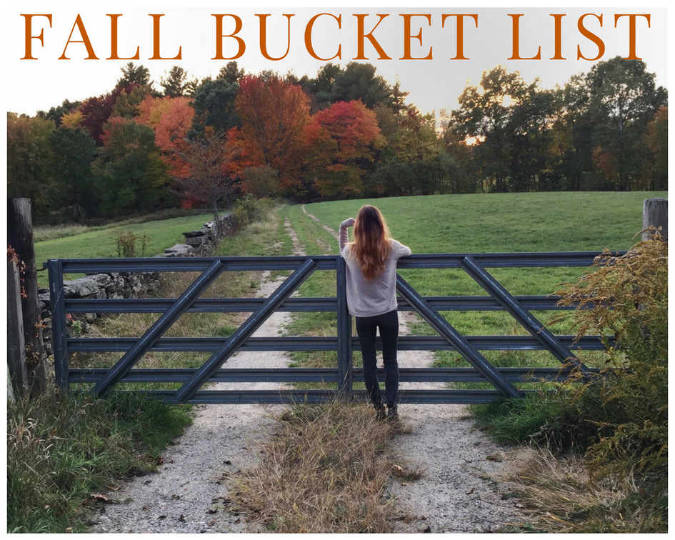 Fall Bucket List: 10 Things To Do This Fall / World Threads Traveler