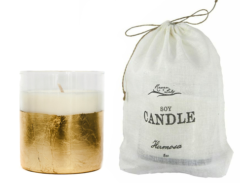 Ethical Gift Guide, World Threads, World Threads Traveler, Cait Bagby, soy candle, candle, raven and lilly