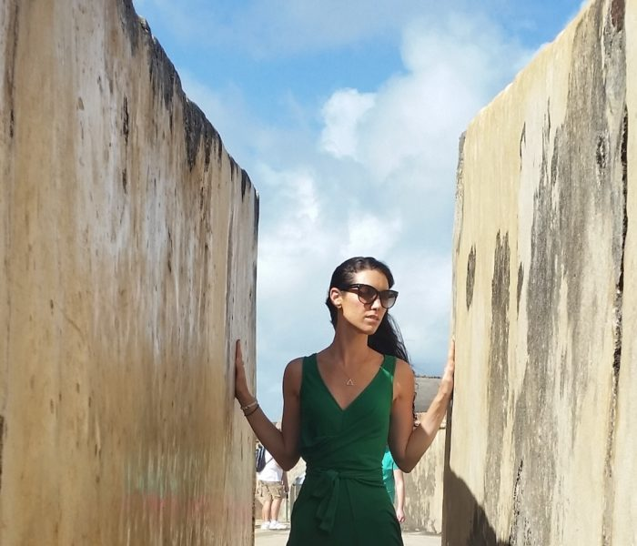 San Juan: Floating in a Turquoise Sea