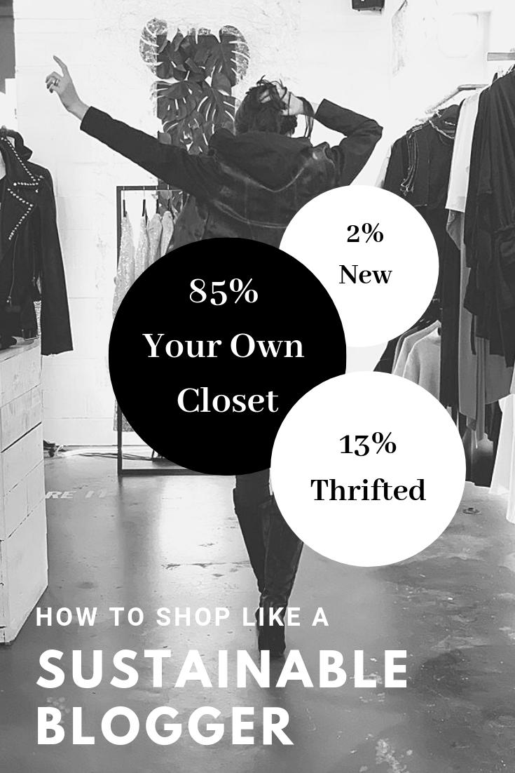Shopping / Sustainability / Girl in clothing Store / World Threads Traveler